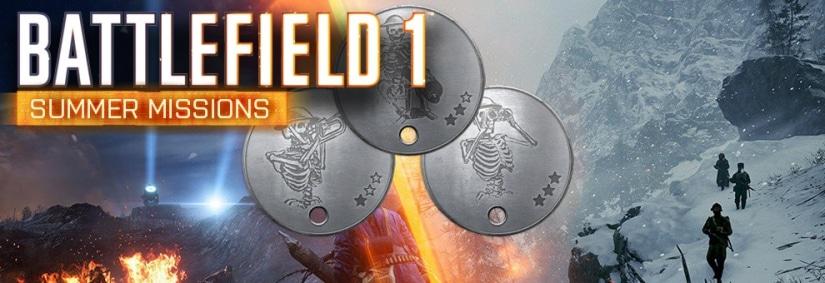 Termine für die zweite Runde der Battlefield 1 Summer Missions bekannt