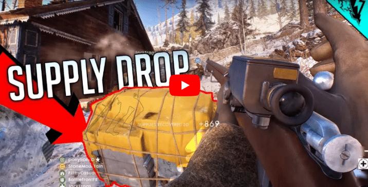Battlefield 1: Detaillierte Informationen zum neuen Spielmodus Supply Drop und dessen Ablauf