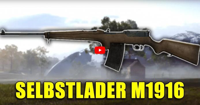 Battlefield 1 – Historische Waffen: Selbstlader M1916 Review