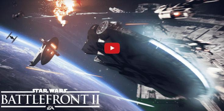 Star Wars Battlefront 2: Offizieller Starfighter Assault Gameplay Trailer veröffentlicht
