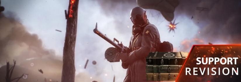 Battlefield 1: Support Battlepack Revision veröffentlicht