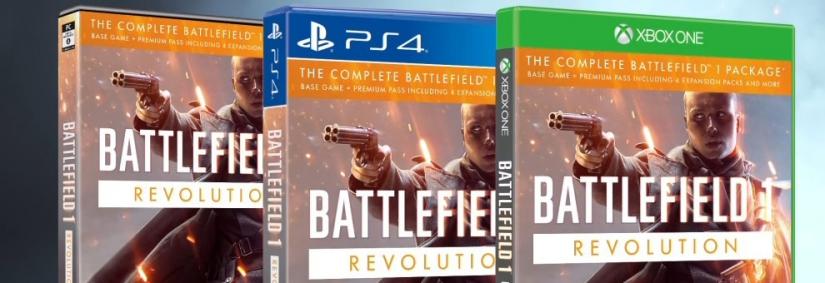 Battlefield 1 Revolution Edition nun samt Premium und allen weiteren Inhalten verfügbar