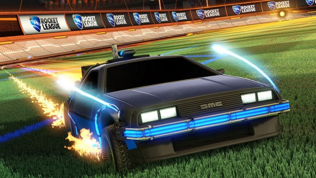 Rocket League – Back to the Future Car Pack