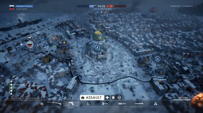 "Battlefield 1 ""In the name of the Tsar"" – Gameplay von der Map Tsaritsyn"