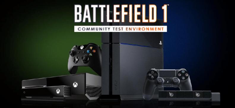 Battlefield 1 Community Test Environment endlich für die Konsolen verfügbar