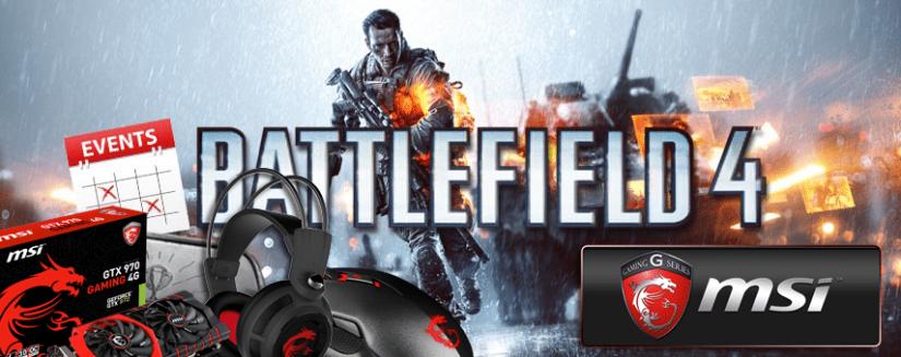 Battlefield 4 Community Play Event mit tollen Sach- und Ingamepreisen