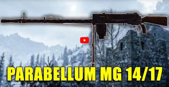 Battlefield 1 – Historische Waffen: Parabellum MG 14