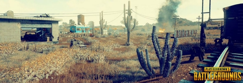 Playerunknown's Battlegrounds – Komplette Mapoverview der Wüsten-Map