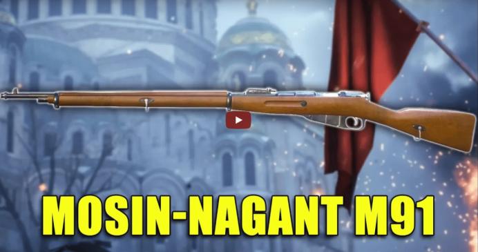 Battlefield 1 – Historische Waffen: Mosin-Nagant M91