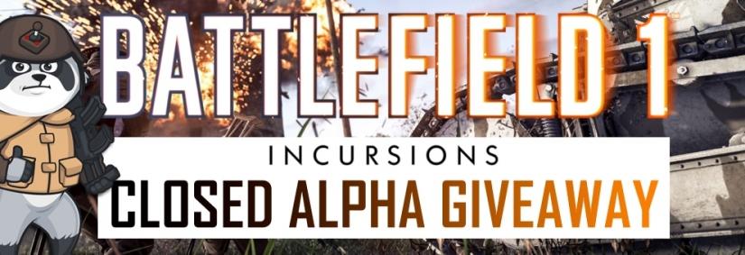 Wir schicken dich in die Battlefield 1 Incursions Closed Alpha
