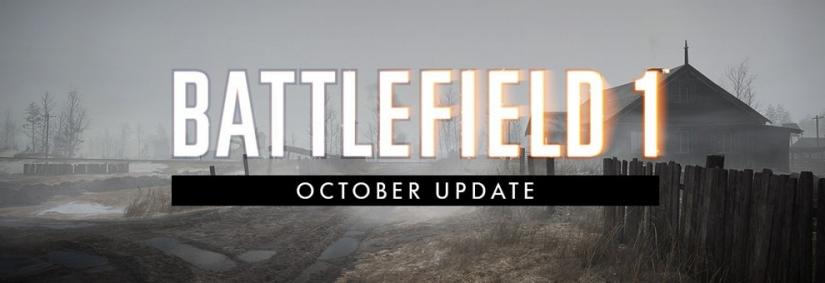 Battlefield 1: Oktober Update erscheint Morgen