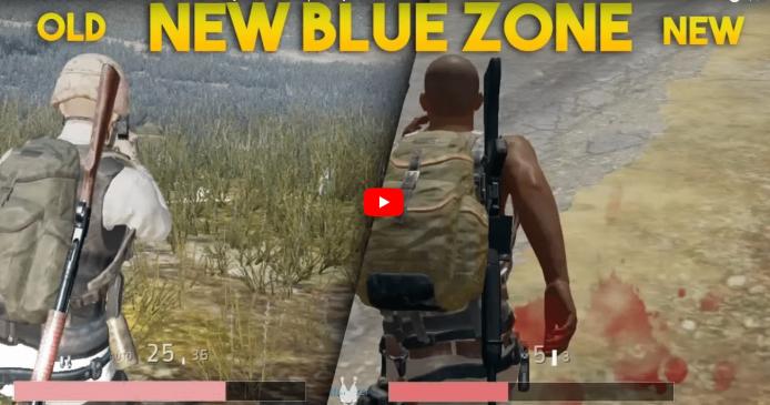 Videovergleich: So viel Schaden macht die neue blaue Zone nach dem PUBG Update