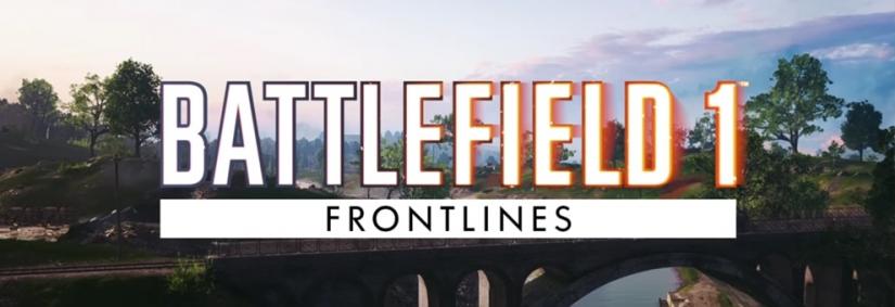 Battlefield 1: St. Quentin Scar kommt für den Frontlines Spielmodus