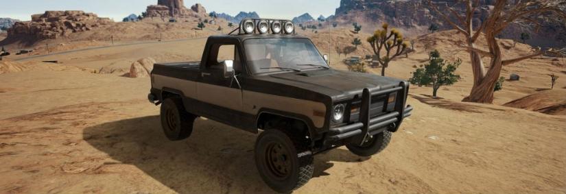 PUBG: Zwei neue exklusive Pickups für die Wüstenmap