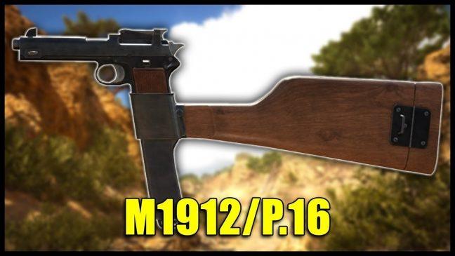 Battlefield 1 – Historische Waffen: Maschinenpistole M1912