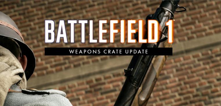 Battlefield 1: Weapons Crate Update wurde veröffnetlicht