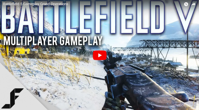Battlefield V: First Look – Grand Operations Gameplay Video