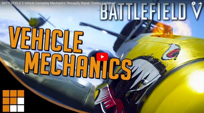 Battlefield V: Über Fahrzeug Mechaniken, Reparaturen und Aufmunitionierung inkl. Gameplayvideo