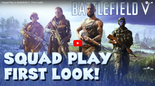 Battlefield V: Squad Play inkl. Infanterie Gameplay Video