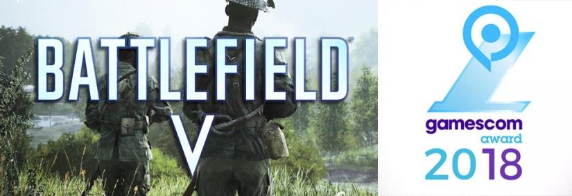 """Gamescom Awards 2018: Battlefield V gewinnt """"Best Multiplayer Game"""" Award"""