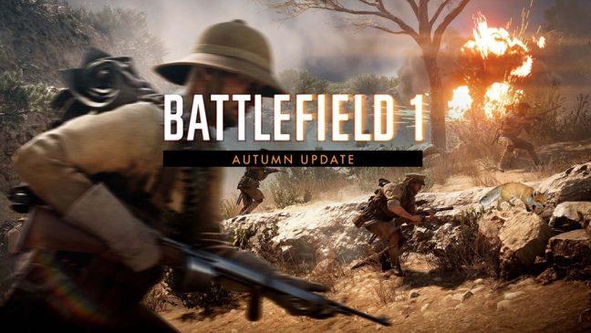 Battlefield 1 Herbst Update erscheint morgen
