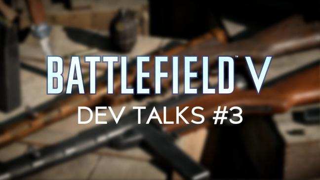 Dritter Battlefield V Dev Talk liefert neue Erkenntnisse zu Gunplay, Perk-System, Spielfortschritt und mehr