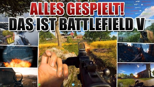 Battlefield V: Viele neue Gameplay Videos aus der Vollversion
