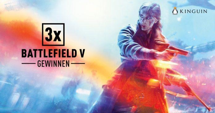 Gewinnspiel: Gewinne drei mal die Battlefield V Standard Version für den PC