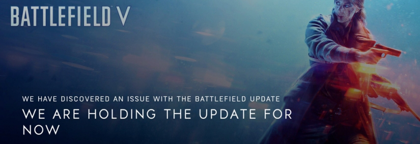 Battlefield V Dezember/Tides of War Kapitel 1: Overtüre Update verschoben