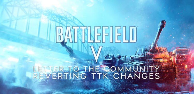 Battlefield V: Die Community hat gesiegt! Das TTK Update wird morgen widerrufen!