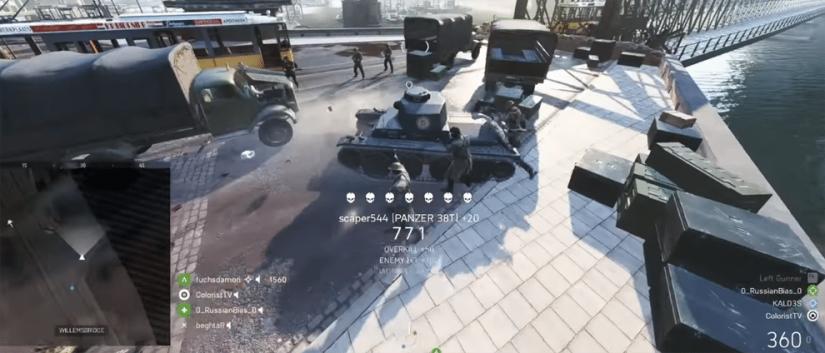 Neuer Battlefield V Bug ermöglicht es das ganze gegnerische Team auszulöschen