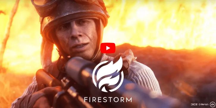 Battlefield V: Official Firestorm Gameplay Trailer veröffentlicht