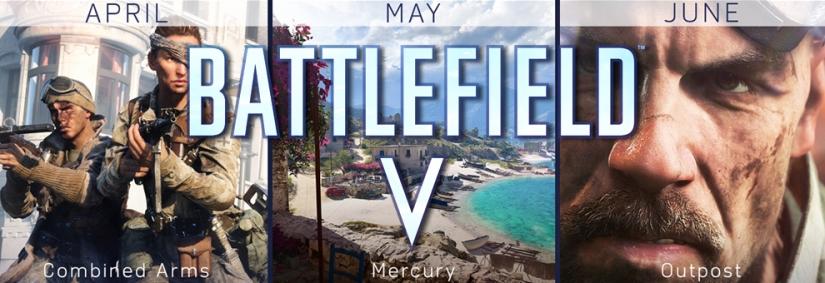 """Battlefield V: Geleakte Termine für neue Map """"Mercury"""" und Spielmodi Fortress & Outpost"""