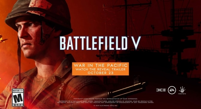 Battlefield V: War in the Pacific Official Reveal Trailer erscheint in Kürze