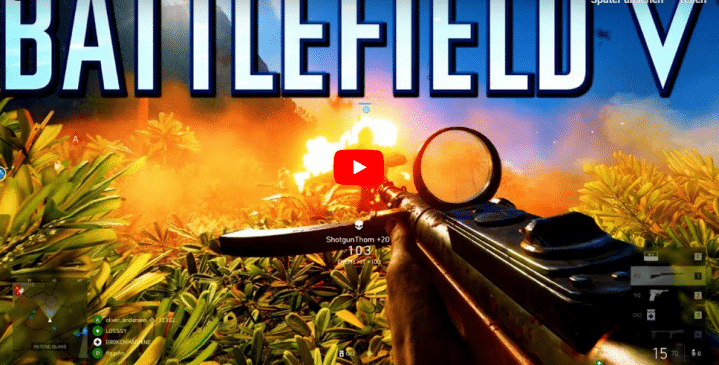 Battlefield V: War in the Pacific Gameplay Videos