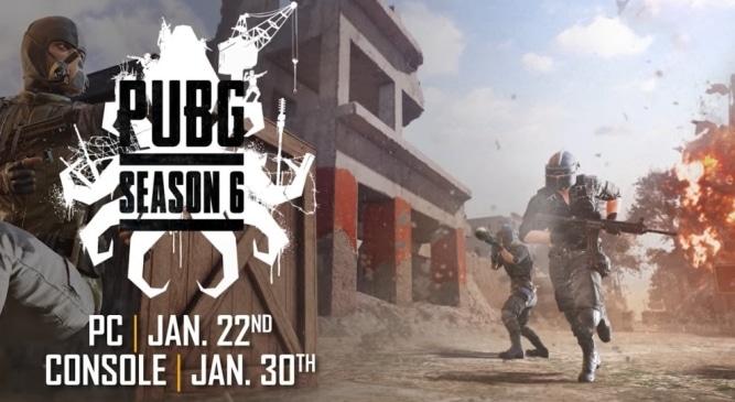 PUBG: Start von Saison 6 mit neuer Mini-Wüsten Map, schwarzer Zone, neuen Waffen und mehr!