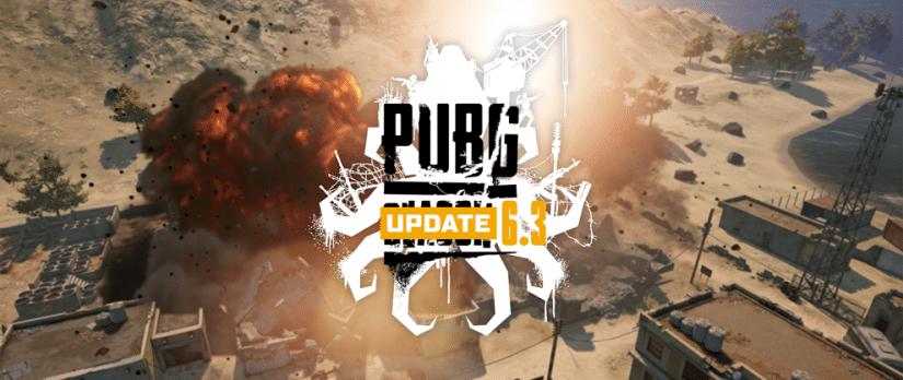 PUBG Update 6.3 – Jetzt auf den PC Liveservern verfügbar