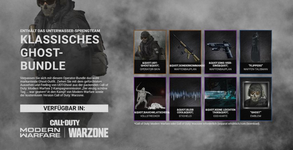 Jetzt vorab kaufen und sofort das klassische für Call of Duty: Modern Warfare und Call of Duty: Warzone erhalten.