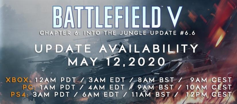 Battlefield V: Changelog zum morgigen Update 6.6, Update Termine, Changelog und mehr!