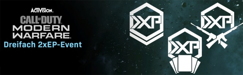 Call of Duty: Modern Warfare & Warzone: Double XP Wochenende für Rang, Waffen und Battle Pass