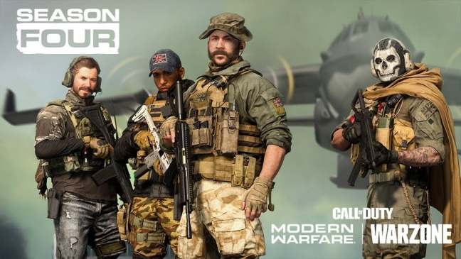 Call of Duty: Modern Warfare & Warzone: Season 4 Roadmap und Trailer