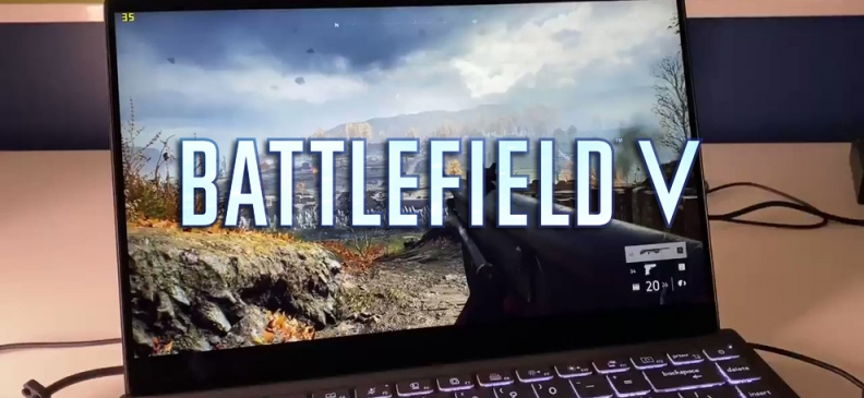 Battlefield V: Demo auf Intel Tiger Lake Mobile Plattform mit 30 FPS dank Intels Xe-Grafikeinheit