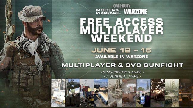 call-of-duty-modern-warfare:-freies-multiplayer-wochenende-fuer-warzone-spieler