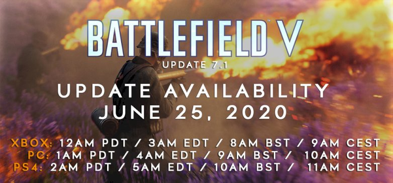 battlefield-v:-update-7.1-erscheint-morgen-und-loest-die-probleme-des-summer-updates